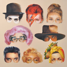 Mamelok Icons of the 20th Century Paper Masks (R476)
