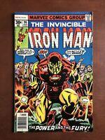 Iron Man #96 (1977) 7.0 FN Marvel Bronze Age Comic Book 1st App New Guardsman