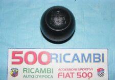FIAT 500 F/L/R 126 POMELLO LEVA CAMBIO GOMMA NERO + NUMERO 4 MARCE INCISE + R
