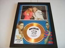 MAC MILLER  / ariana grande  SIGNED  GOLD CD  DISC