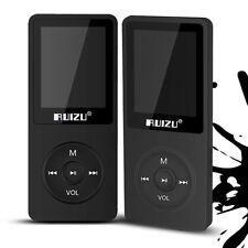 4GB Baladeur Lecteur MP3 Radio FM Horloge Enregistreur Vocal  Fente Carte / BK