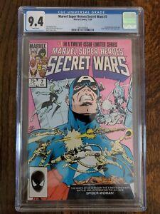 MARVEL SUPER HEROES SECRET WARS #7 CGC 9.4 * 1st Spider-Woman (Julia Carpenter)