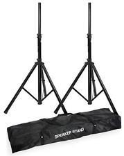 2 Stück Boxenstativ + Tragetasche für 2 Boxenständer Lautsprecherstative Ständer