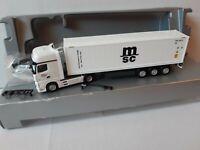 Actros 11 Tevex Logistics  33378 Rheda-Wiedenbrück  40 FT Reefer MSC Container