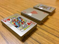 A Set of 3 Collectible Lighters (Play Cards Theme)