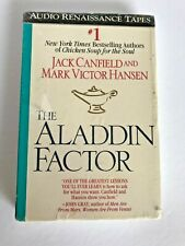 The Aladdin Factor - Jack Canfield and Mark Victor Hansen 2 AUDIO CASSETTES 1995