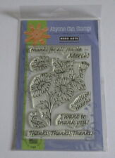 Hero Arts Clear Design Stamp Set - A Million Thanks - CL304 - New - Please Read.