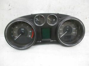 Speedometer Instrument Cluster Mph Kmh Peugeot RCZ 2.0 HDI 9666661480