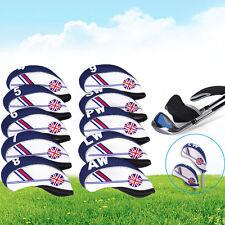 10x Neoprene UK Flag Golf Club Headcover Head Cover Iron Protect Set Kit Pop*