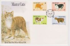 Unaddressed Isle of Man FDC First Day Cover 1989 Manx Cats 10% off 5
