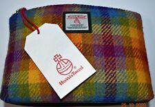 DIRECT FROM THE WEAVER - Rainbow Harris Tweed Cosmetic Bag