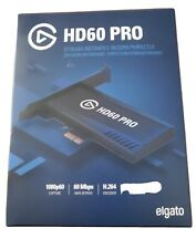 Elgato HD60 Pro Game Capture Card Device (2GC309901002) Stream 1080p 60fps HD