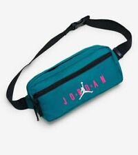 NIKE AIR JORDAN Jumpman Crossbody Waist Bag Fanny Pack Green Jordan Pouch