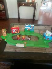 Rare Daniel the Tiger's Neighborhood town playset talking Trolley complete
