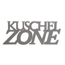 Holzschrift 3D Kuschelzone Holzschild Schrift Dekoschrift Wandschild Schriftzug