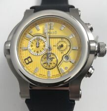 Renato T-rex 49mm Yellow Dial Chronograph Pro Diver Watch - Limited to 30