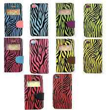 3D FASHION ZEBRA VIEW WINDOW GEL CASE FOR IPHONE 4/4s/5/5s/SE UK FREE DISPATCH