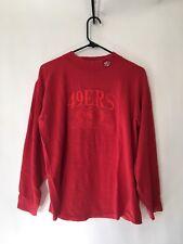 Vintage San Francisco 49ers Forty Niners Long Sleeve Size Medium 80s 90s Logo 7
