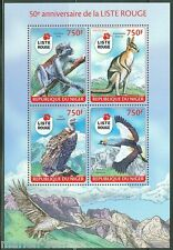 NIGER 2014 50th ANNIVERSARY OF THE RED LIST OF ENDENGERED SPECIES SHEET MINT NH