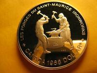 Canada Rare 1988 Silver Dollar Gem Proof Beauty IDJ281.