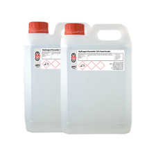 Grado Alimenticio peróxido de hidrógeno 12% 2 X 5 Litros (10l) * Vendedor Profesional *