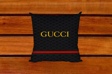 NEW!!Gucci78 Black Stripe pillow case two side picture size 18'' x 26''