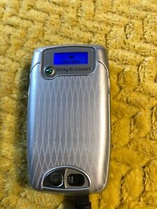 Sony Ericsson Z600 Silver Mobile Phone - Flip with stand