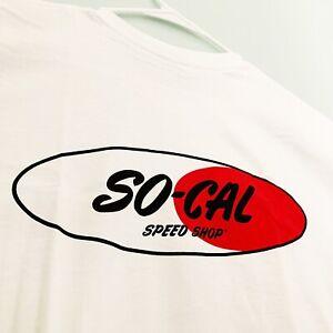 SoCal Speed Shop Original Logo T-Shirt - White
