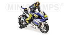 1:12 Minichamps Valentino Rossi Yamaha + Figure Figurine Assen 2013 RARE NEW