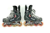 Bauer Vapor RX:25 Youth Junior Roller Hockey Inline Hi-Lo Skate Sz 2R  3 Shoe Sz