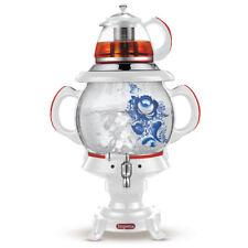 Elektrischer Samowar IMPERIUM weiß 4L Samowar Wasserkocher Teekocher самовар