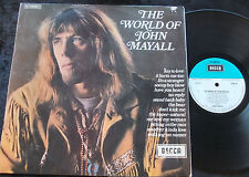 JOHN MAYALL The World Of John Mayall LP