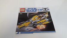 Lego!!! Instrucciones Solamente!!! Para Starwars 7669 Jedi Star Fighter