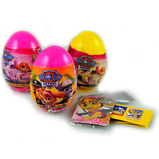 -in USA-3 PACK:  Paw Patrol plastic surprise egg  toy and candy