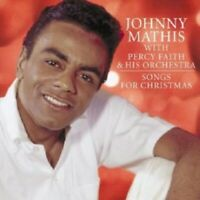 JOHNNY MATHIS WITH PERCY FAITH & HIS ORCHESTRA - SONGS FOR CHRISTMAS  CD NEW