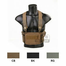 Emerson D3CR Modular Lightweight Tactical Chest Rig Micro Fight Mag Pouch NEW