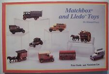 Matchbox Lledo Cars $$$ id TOYS PRICE VALUE GUIDE COLLECTORS BOOK