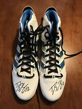 Dwight Howard autographed basketball shoes size 18 Adipower Orlando Magic JSA