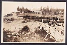 C 1924 Real Photo RPPC Postcard Main Building PICTOU Lodge Nova Scotia, Canada