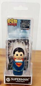Robin - Superman - Justice League - Pin Mate Wooden Figure - Peg Doll NEW BNIB