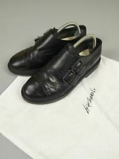 Marsell Men's Leather Belted Brogues Size 40 Made in Italy