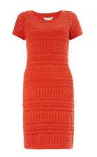 MONSOON Izzy Pointelle Dress With Slip BNWT