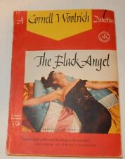 Vintage 1943 The Black Angel by Cornell Woolrich Paperback Detective novel