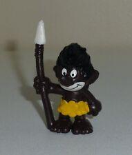 Figurine Schtroumpf : 20069 SCHLIPS - Couleur MARRON TBE (Smurf Puffi Schlumpfe)