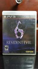 Resident Evil 6 (Sony PlayStation 3, PS3, 2012)