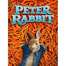 Peter Rabbit (DVD, 2018) Animation New US STOCK FAST FREE SHIPPING