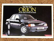 1986 FORD ORION GHIA INJECTION POST CARD - New Old Stock - Mint Condition
