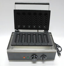 Ef Commercial Electric Muffin French Hot Dog Waffle Machine Breadfast Maker 220v