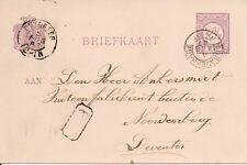 Briefkaart van Den Haag naar Deventer (1887)
