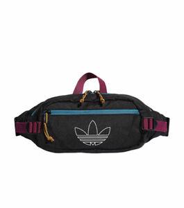 Adidas Originals Unisex-Adult Utility Crossbody Bag, fannypack Teal Berry